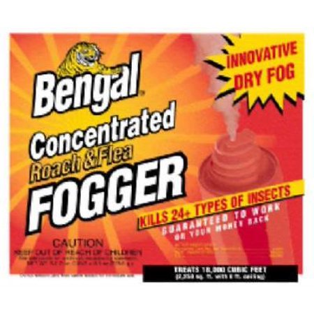 3pc Roach & Flea Fogger Kills Roaches Fleas Ants Spiders