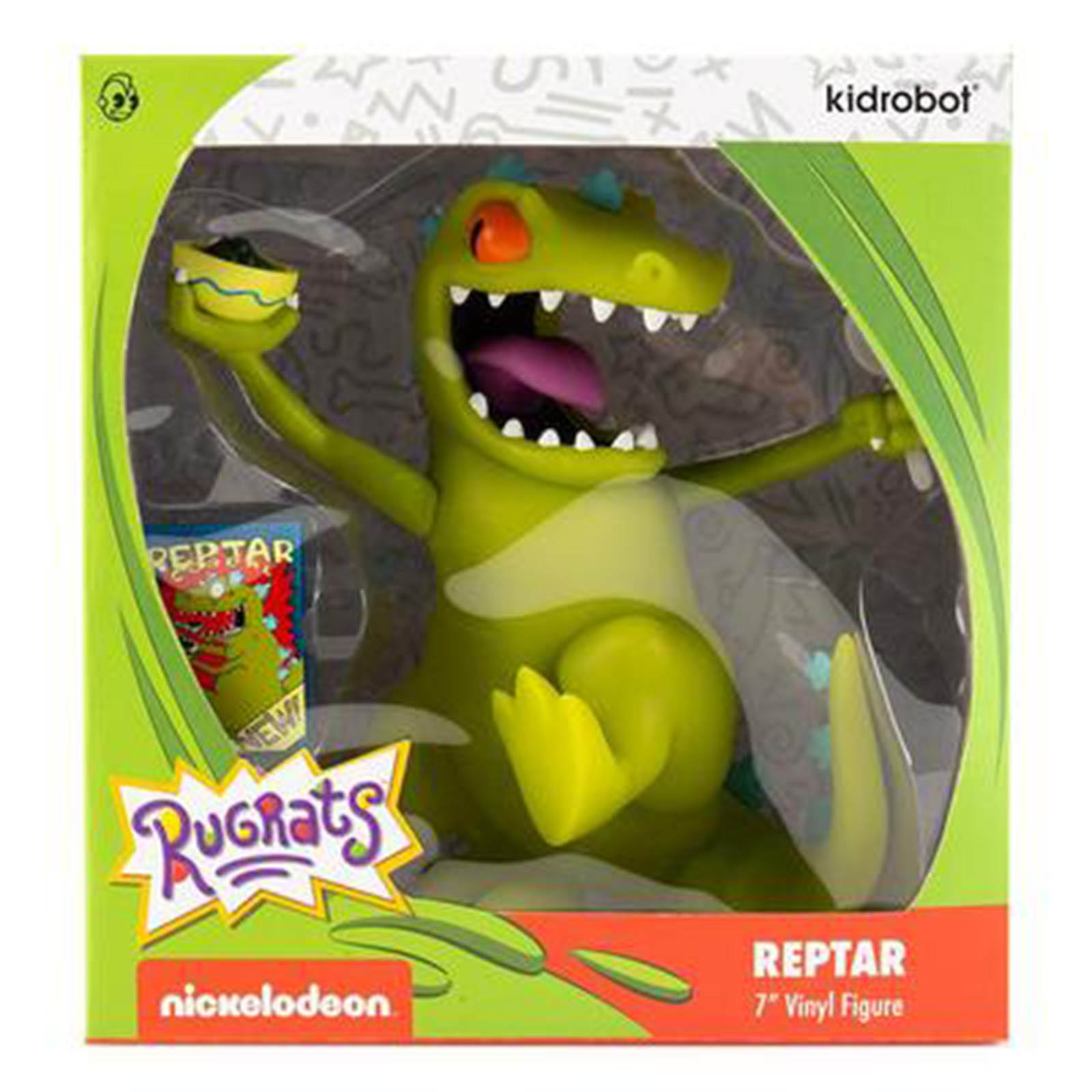 """Nickelodeon Rugrats Reptar 7"""" Vinyl Figure (US Only) by Kidrobot"""
