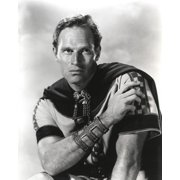 Charlton Heston Leaning on the Car Photo Print by Movie Star News/Globe Photos LLC