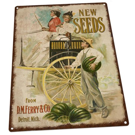 (Watermelon Seeds Vintage Advertisement 9