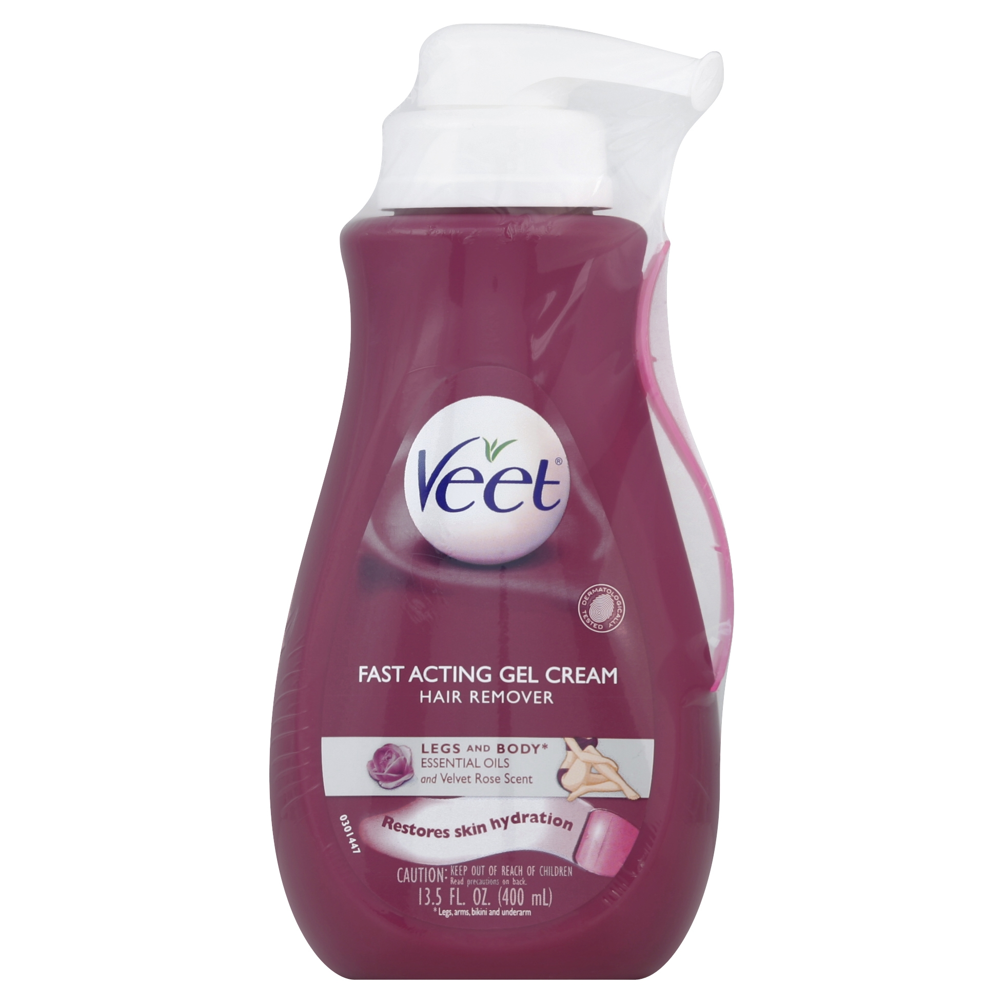 Veet Gel Hair Remover Cream With Essential Oils 13 5 Ounce