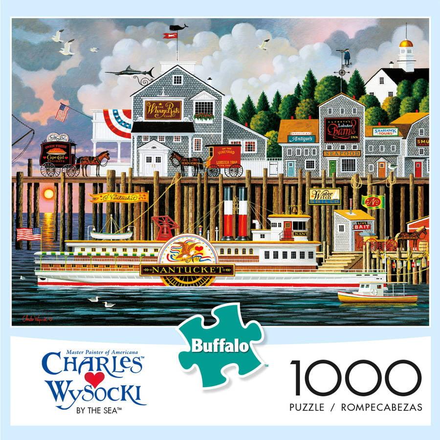 Wysocki By The Sea 1000-Piece Puzzle by Buffalo Games