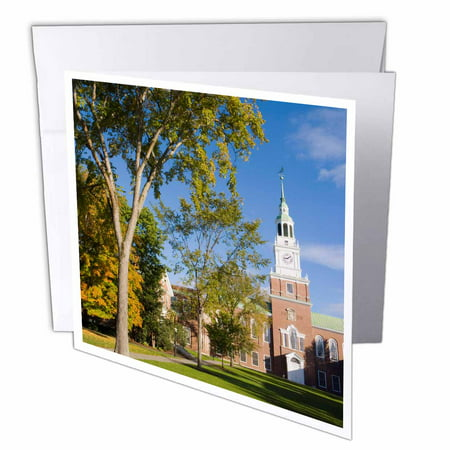 3dRose Education, Dartmouth College, New Hampshire - US30 JMO1118 - Jerry and Marcy Monkman, Greeting Cards, 6 x 6 inches, set of