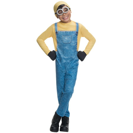 Minion Bob Child Costume - Minion Homemade Halloween Costume