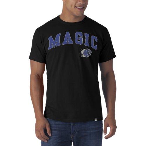 NBA Orlando Magic Fieldhouse Basic Tee, Large, Jet Black