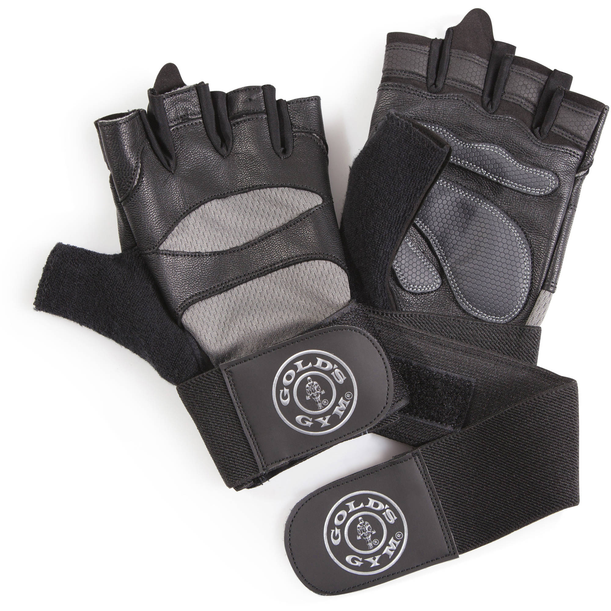 Gold's Gym Elite Wrist Wrap Gloves | Strength Training Accessories