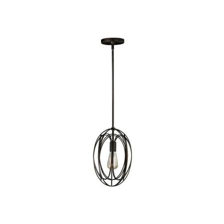 Mini Pendants 1 Light Fixtures With Burnished Bronze Finish Steel Material Medium 9