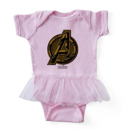 CafePress - Avengers Infinity War Symbol - Cute Infant Baby Tutu Bodysuit - Baby Avengers