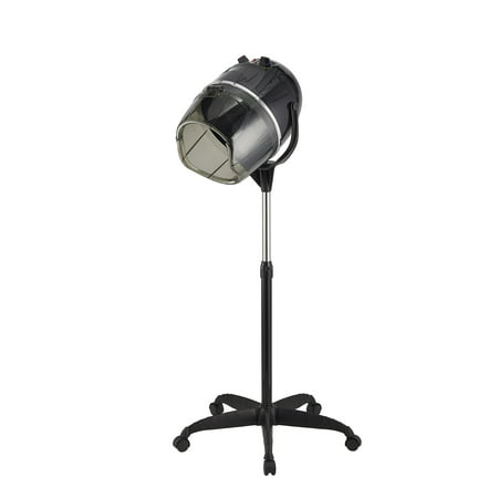 Stand-up Hair Dryer w/ Timer & Swivel Hood Caster for Salon Beauty -