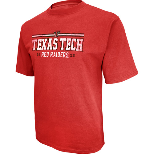 NCAA Big Men's Texas Tech Short Sleeve Tee