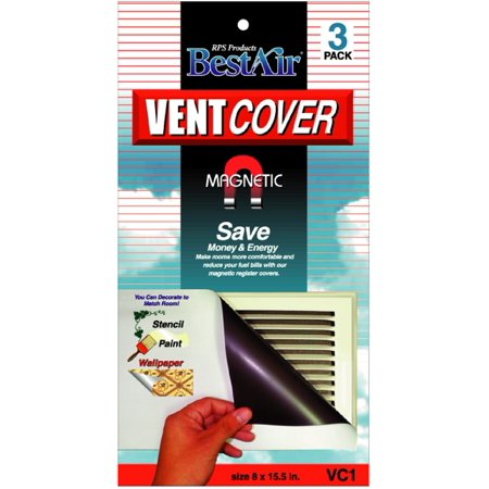 Decorative Vent Covers (Magnetic Vent Cover (3 Pack))