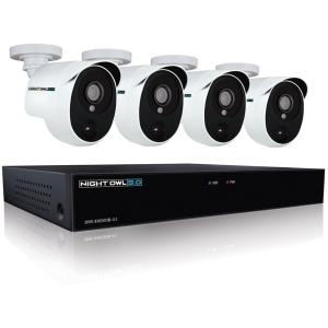 4CH CAM 5MP HD-DVR 1TB HDD WIRED INFRARED SURVELIANCE SYSTEM