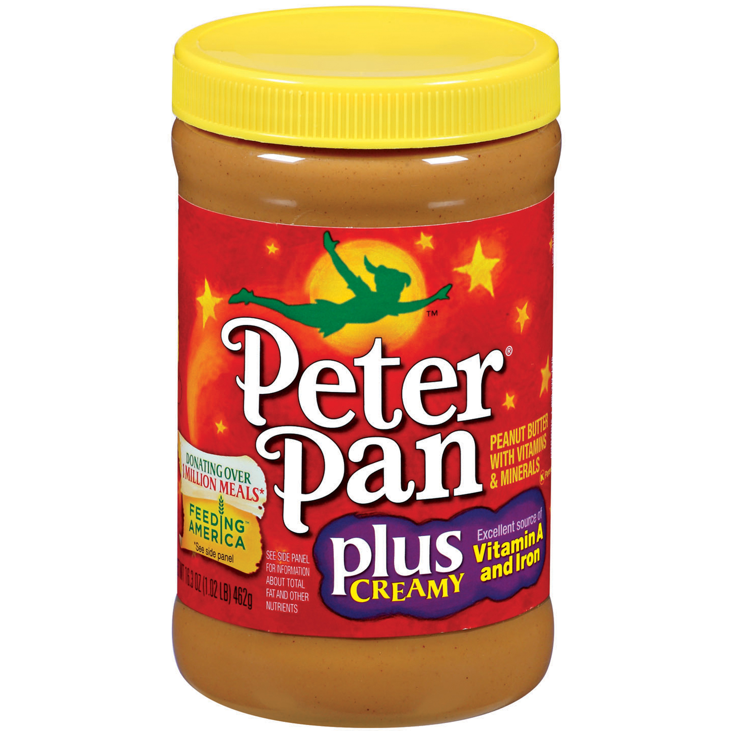 Peter Pan Plus Creamy, 16.3oz