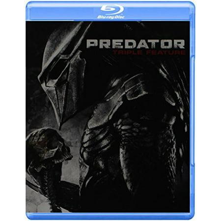 Predator Triple Feature - Halloween Triple Feature Blu Ray