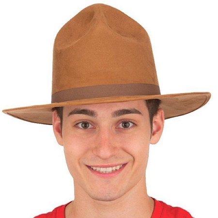 Highway Patrol Drill Sergeant John Mountie Wayne Campaign Hat Ranger Costume