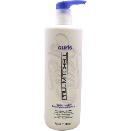 Curls Spring Loaded Frizz Fighting Shampoo by Paul Mitchell for Unisex, 24 oz - Curly Mo