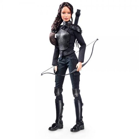 Barbie Collector The Hunger Games: Mockingjay Part 2 Katniss Doll - Barbie And The Halloween Games