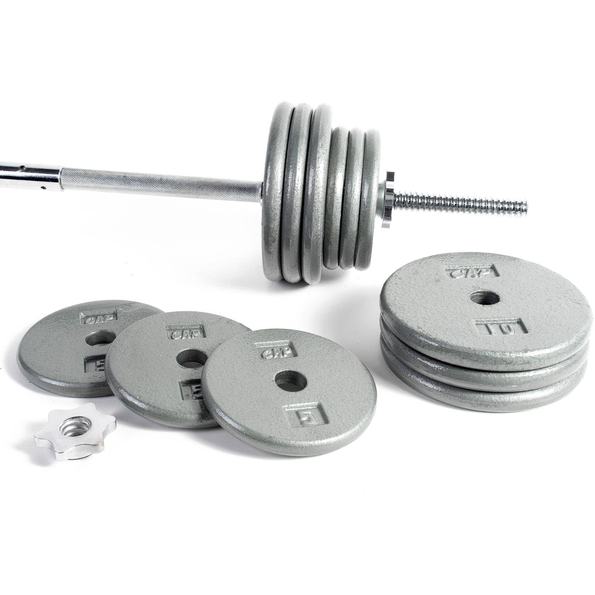 sc 1 st  Walmart & CAP Strength Deluxe Standard Bench with 100 lb Weight Set - Walmart.com