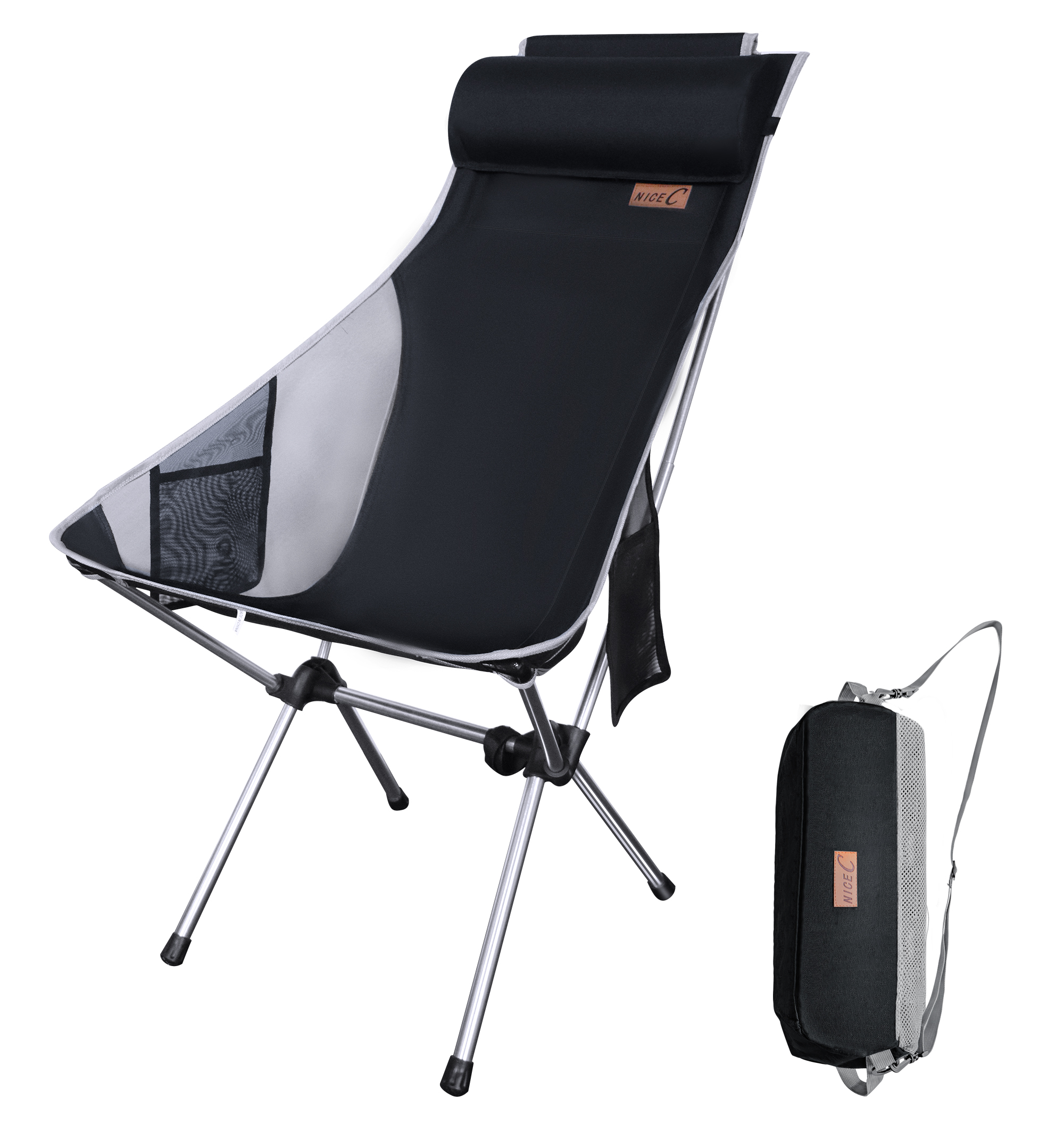 Camping Ultralight Portable Folding Backpacking Camping Chair Pillow Backpacking