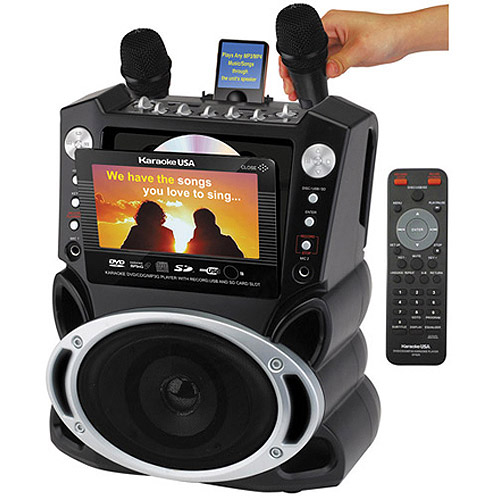 Karako USA GF829 DVD/CD+G/MP3+G Karaoke Machine