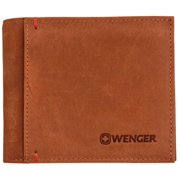 Thun Genuine Leather Bifold ID Card Money Holder Billfold Mens Wallet