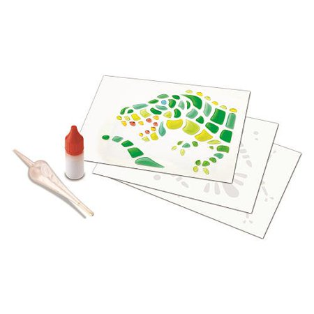 The Toy Box Artsplash 3D Liquid Art Accessory Pack With Red Ink - Dinosaur