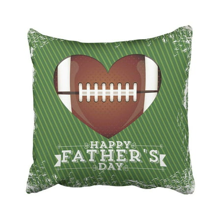 BPBOP Love For Dad Happy Father's Day Party You Abstract Arrow Best Cartoon Celebration Pillowcase Throw Pillow Cover Case 20x20