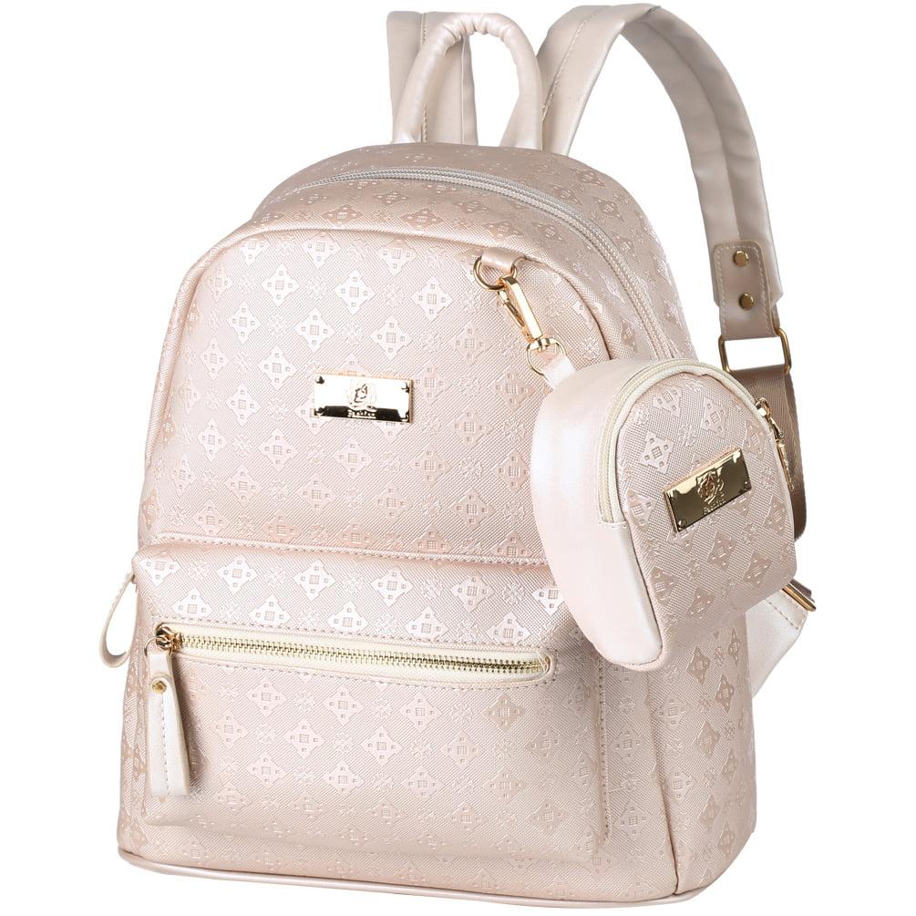 Street Women Mini Backpack PU Leather Zipper Casual Schoolbag Shoulder Bag lot