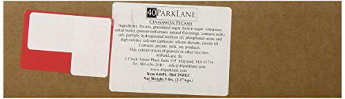 Carolyn's Handmade Cinnamon Pecans Bulk, 80 Ounce (= 5lbs) by Carolyn's Handmade