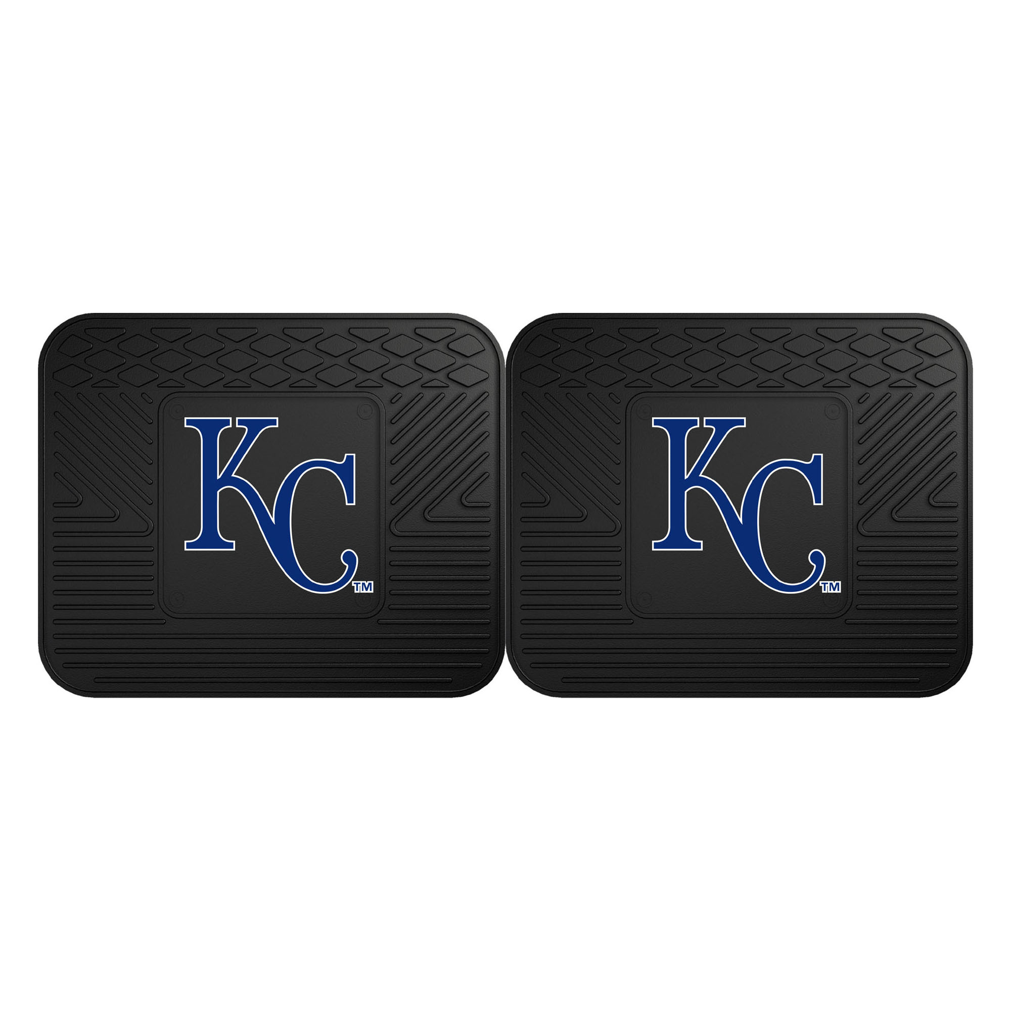 "Kansas City Royals 2-pc Utility Mat 14""x17"""