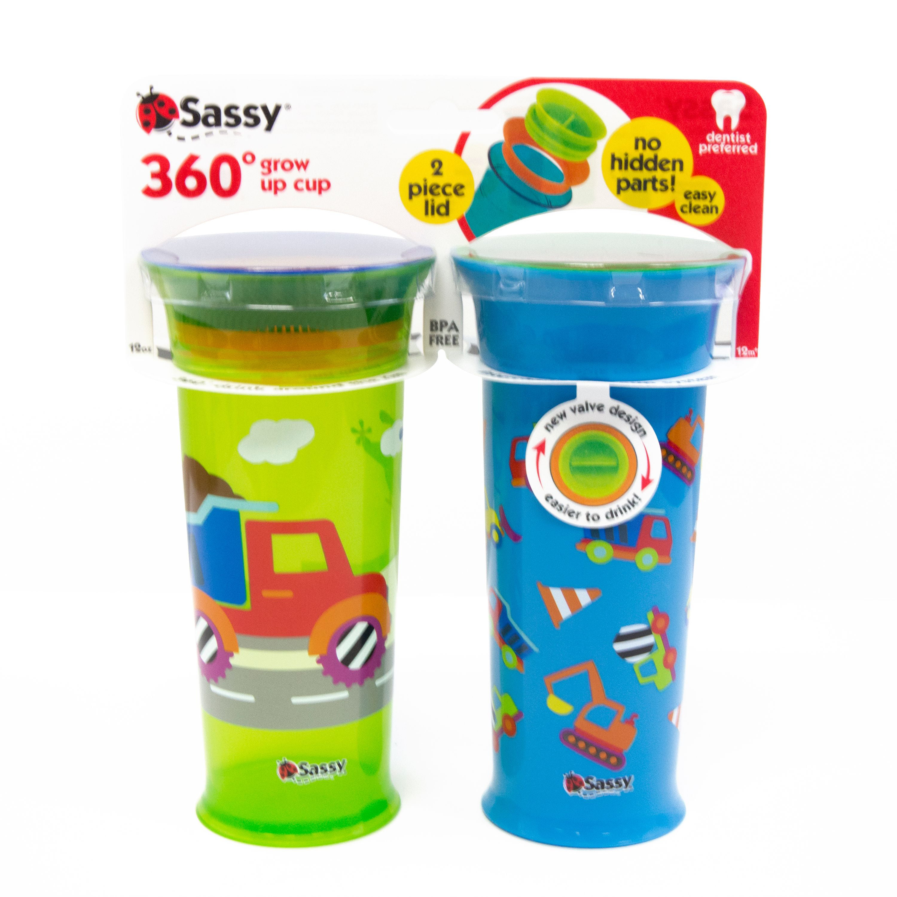Colors Vary Free Stu Baby Feeding Nuk 2 Pack Replacement Valves Spill Proof Cup
