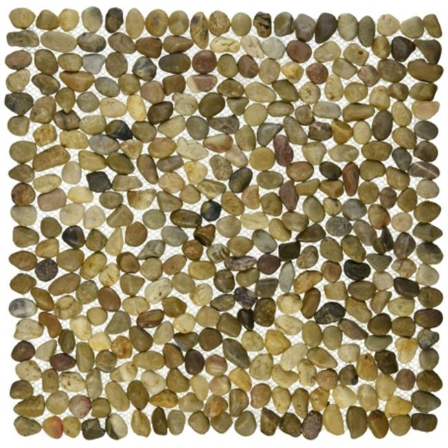 Design Ideas 643315 Brown Beachstone Placemat, Pack of 4