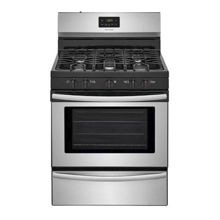 FFGF3052TS 30 Freestanding Gas Range with 4.2 cu. ft. Capacity  2 Oven Racks  Backguard  Broil and Serve Drawer  5 Sealed Gas Burners  and Quick Boil  in Stainless (Best Gas Range And Oven)