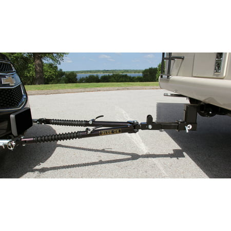 Blue Ox BX4370 Ascent Class III Aircraft Grade Aluminum RV Tow Bar with 7,500 lb.