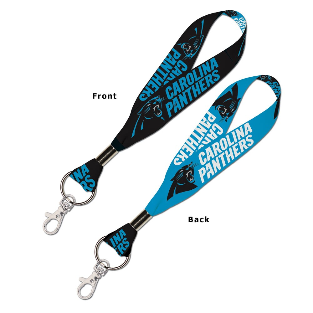 Carolina Panthers Official NFL 8 inch  Lanyard Key Chain Keychain by Wincraft