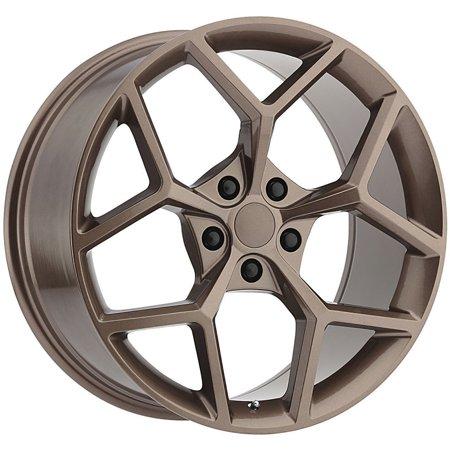 Replica 126CO Camaro Z28 20x9 5x120 +30mm Copper Wheel Rim 20