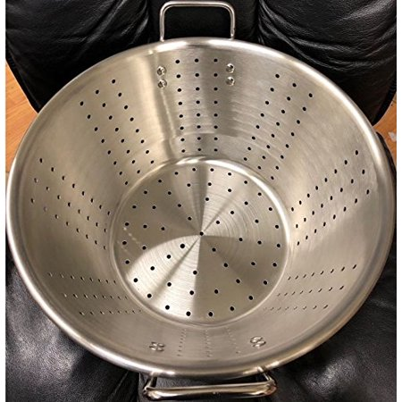 Restaurant Quality Large Thick Stainless Steel Colander Food Vegetable Strainer Caso Colador 15