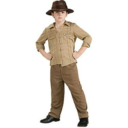 Tom Jonas Halloween (Indiana Jones Boys Child Halloween Costume, One Size, M)
