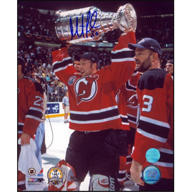 AJ Sports World BROM135023 MARTIN BRODEUR New Jersey Devils SIGNED 8x10 Photo 2000 Stanley Cup Photo
