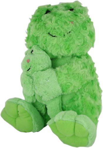 Beverly Hills Teddy Bear Co. Plush Swirl Pet Frog with Baby by Beverly Hills Teddy Bear Co.