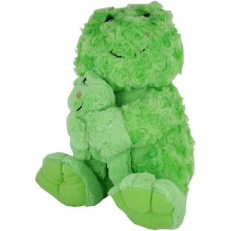 - Beverly Hills Teddy Bear Co. Plush Swirl Pet Frog with Baby