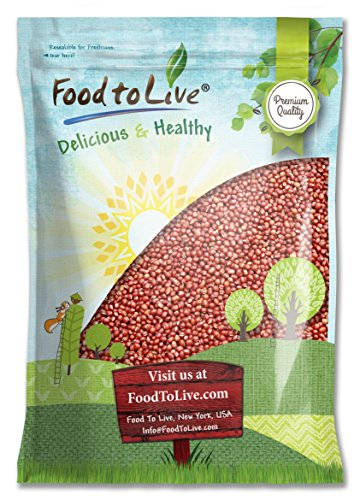 Food To Live Adzuki Bean Sprouting Seeds (10 Pounds) by Food To Live