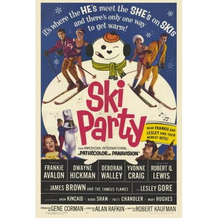 Ski Party Movie Poster Print (27 x 40) - Party Movie
