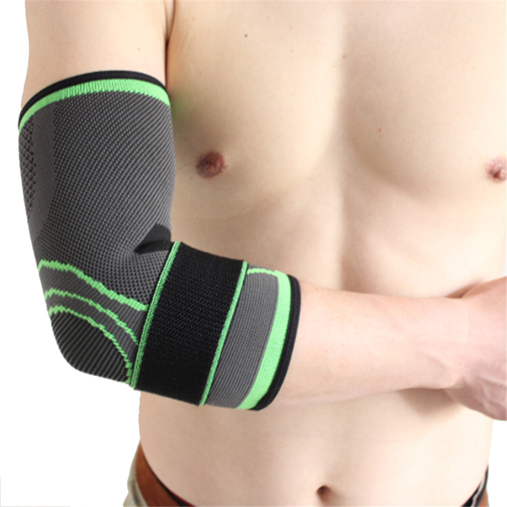 Mosunx Elastic bandage tennis elbow support protector basketball running volleyball