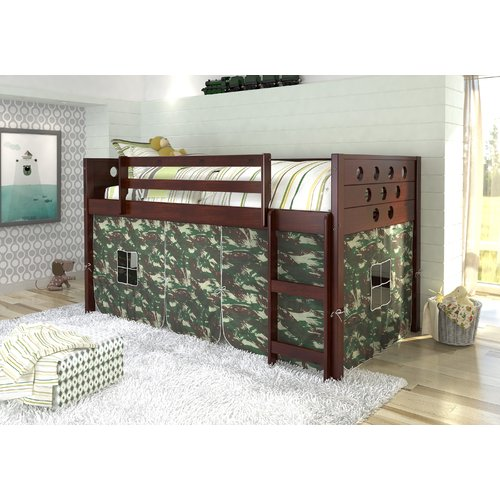 Donco Kids Circles Twin Loft Bed