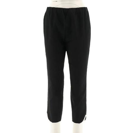 C Wonder Cotton Sateen Crop Pants Hem A289710 (Cotton Sateen Crop)