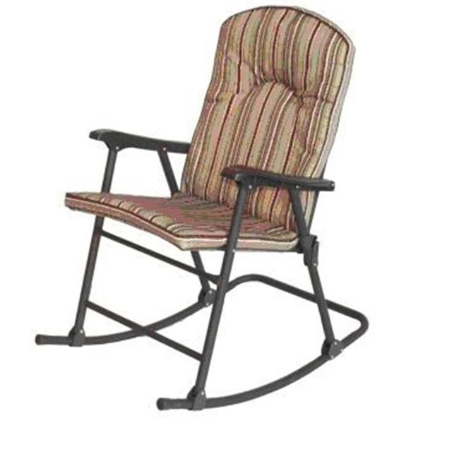 Prime Prodct 136803 Cambria Padded Red Rock Rocker