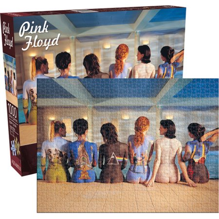 Pink Floyd - Back Art 1000 PC Jigsaw Puzzle Castle Jigsaw Puzzle 100 Pc