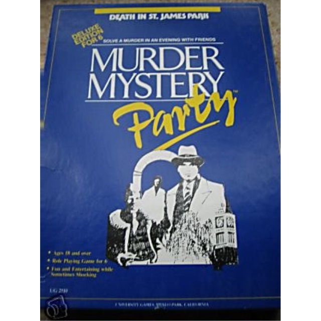 Murder Mystery Party (Death in St. James Park) by University Games by
