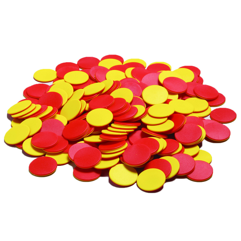 TWO COLOR COUNTERS 200 PCS